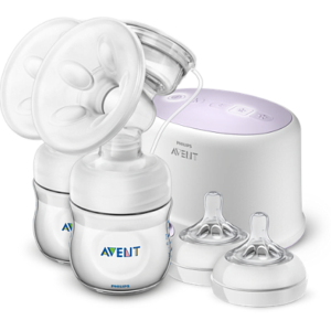 Philips AVENT Comfort Double Electric Breast Pump SCF 334/31
