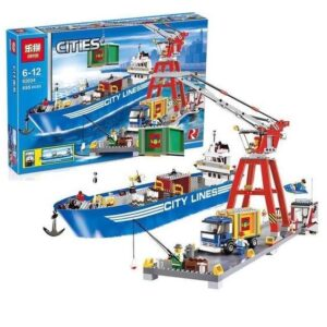 LEPIN 02034 City Harbour