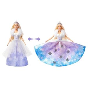 Barbie Dreamtopia Fashion Reveal Princess Doll, with Pink Hairstreak